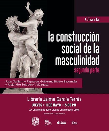 """Charla """"La Construcción Social de la Masculinidad"""""""